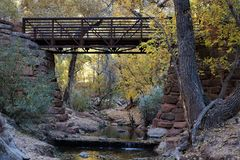 Zion nationalpark Utah, Förenta staterna arkivfoton