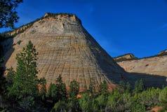 Zion nationalpark, utah USA arkivbilder