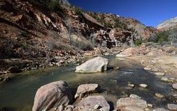 Zion Nationalpark, Utah, USA Stockfotos