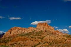 Zion nationalparkliggande Royaltyfri Fotografi