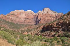 Zion NP Royalty Free Stock Image