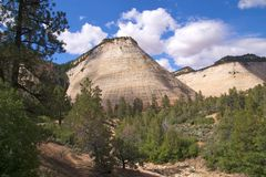 Free Zion NP Checkerboard Mesa Royalty Free Stock Photography - 17216397