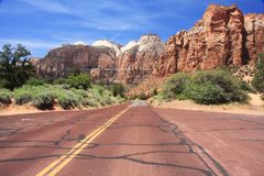 Zion NP, Utah Stock Images
