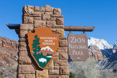 Zion park Royalty Free Stock Images