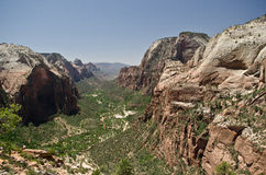 Zion park landscape Stock Photography
