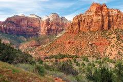 Zion Park Landscape Utah Fotografía de archivo