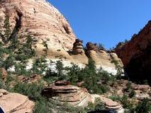 Zion park narodowy zdjęcie royalty free