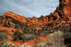 Zion park narodowy Zdjęcia Royalty Free
