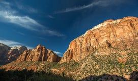 Zion park narodowy Obrazy Stock