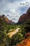 Zion park narodowy Obraz Stock