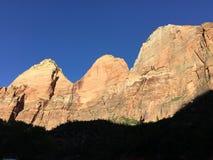 Zion park narodowy Obrazy Royalty Free