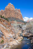 Zion park Royalty Free Stock Image