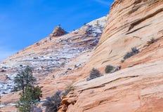 Zion park Stock Image