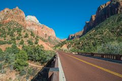 ZIon Park Road Stock Photography