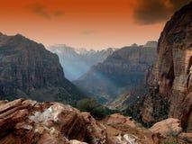 Zion Park, Utah, Mountains Stock Image