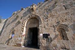 Zion port Jerusalem Arkivfoton