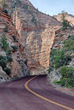Zion road Stock Image