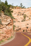 Zion road Royalty Free Stock Photography