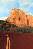 Zion road Stock Photography