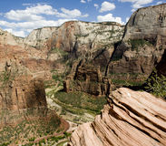 Zion rock formations Royalty Free Stock Photos