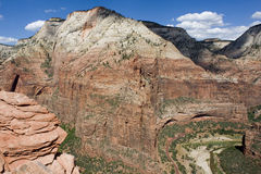 Zion rock formations Stock Images