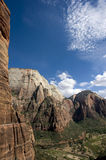 Zion rock formations Stock Photography