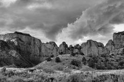 Zion Storm Clouds  Royalty Free Stock Image