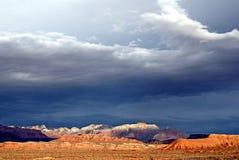 Zion Storm Light imagen de archivo libre de regalías