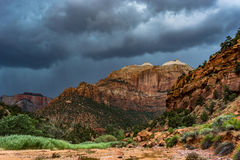 Zion_Storm Royalty Free Stock Images