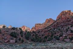Zion Sunrise Stockfoto