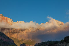 Zion Sunrise Stock Image
