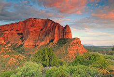 Zion sunset Stock Photos