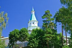 Zion tower. Great monasteries of Russia. New Jerusalem monastery Royalty Free Stock Photos