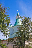 Zion Tower. New Jerusalem Monastery.  Istra. Moscow region Royalty Free Stock Photo
