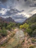 zion Utah parku narodowego obraz royalty free