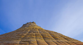 Zion, Utah Table top mountain Royalty Free Stock Photography