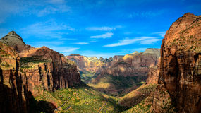 Zion Valley Stock Photography