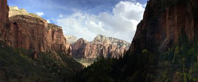 Zion Views Royalty Free Stock Image