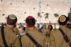 Zionist Military Youth Royalty Free Stock Photo