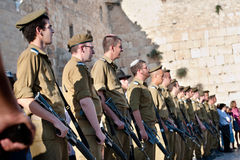 Zionist Military Youth Royalty Free Stock Image