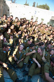 Zionist Military Youth Royalty Free Stock Photography
