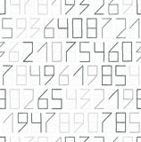 Zip code seamless Stock Image