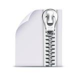 Zip Datei vektor abbildung