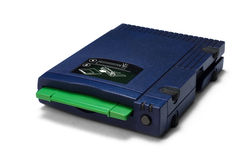 Zip drive Royalty Free Stock Photo