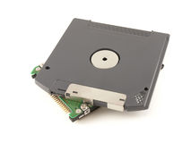 ZIP floppy disk and HDD for notebook Stock Photo