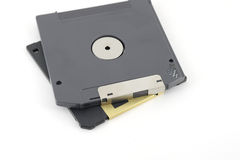 ZIP and floppy disks Stock Image