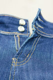Zip on jeans Stock Photos