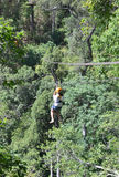 Zip line Royalty Free Stock Photography