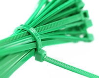Zip tie Royalty Free Stock Images