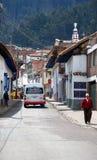 Zipaquira哥伦比亚 库存照片